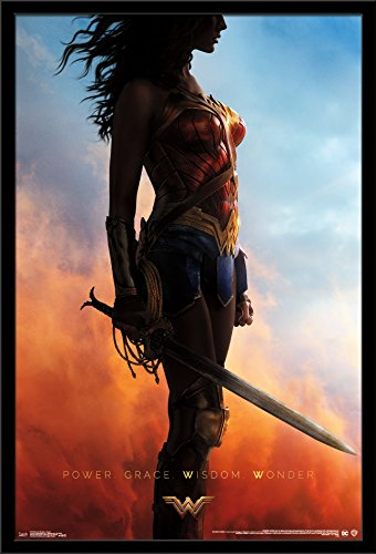Trends International Wall Poster Wonder Woman Teaser, 22.375 x 34
