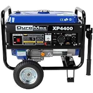 DuroMax XP4400, 3500 Running Watts/4400 Starting Watts, Gas Powered Portable Generator