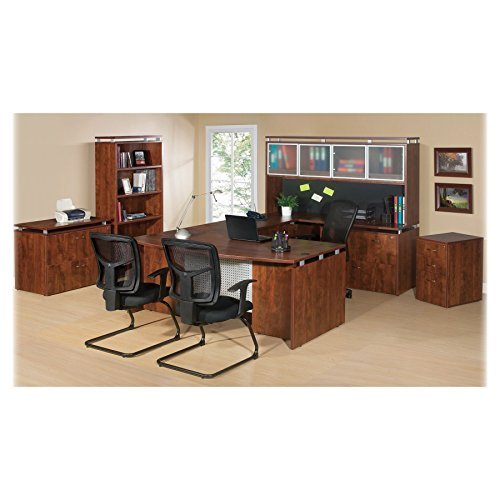 Lorell LLR68705 Executive Desk, Cherry by Lorell (Image #1)