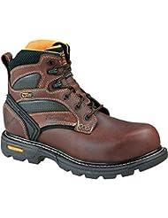 Thorogood Mens 6 Plain Toe Work Boots