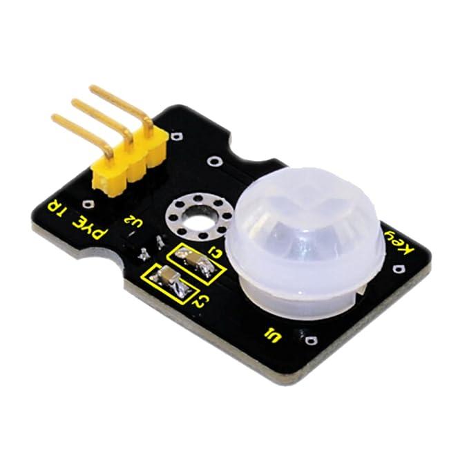 Homyl IR Pyroelectric Hombre Infrarrojo Sensor De Cuerpo Pir Motion Sensor Board Para Arduino DIY: Amazon.es: Electrónica