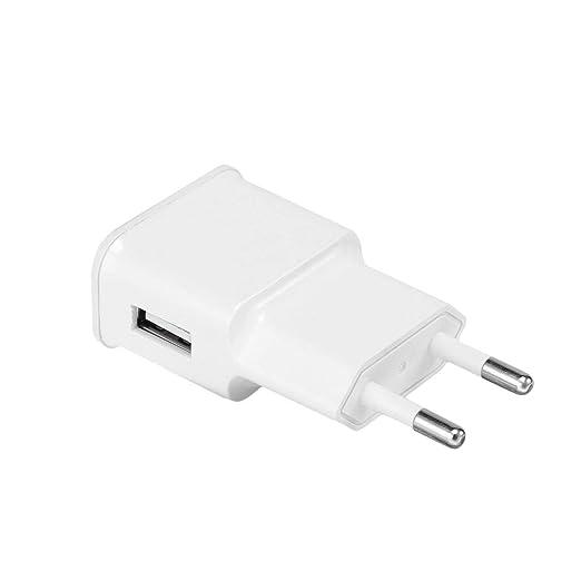 Heaviesk Cargador USB 5V 2A Cargador rápido Cargador de ...