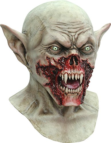 Scary-Masks Kurten Adult Latex Mask Halloween Costume - Most Adults (Most Scary Halloween Costumes)