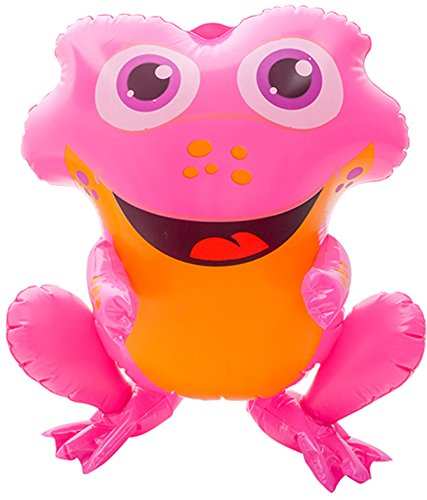 """Block Buster Costumes Rainforest Spotted Poison Dart Pink Frog Animal Inflatable 20"""""""