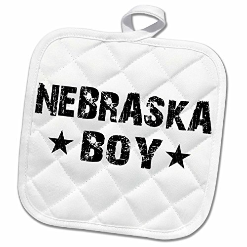 3dRose InspirationzStore Typography - Nebraska Boy - home st