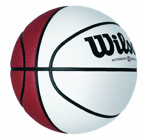 Wilson Autograph Basketball Boxed (Official Size 29.5 Inches) by Wilson