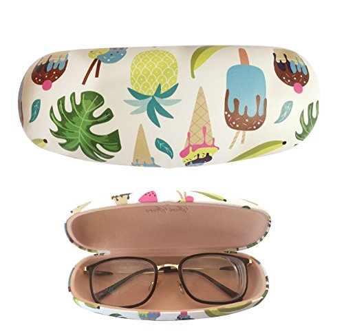 Eyeglasses Hard Case Portable Case Ice Cream Pineapple Cupcake Cute Clamshell Protective - Case Cute Sunglasses