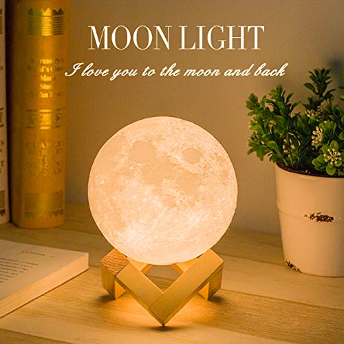 Mydethun Moon Lamp Moon Light Night Light