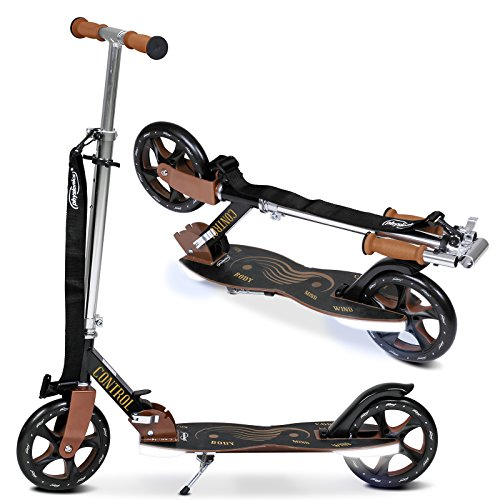 Tretroller Scooter Roller mit LED-Licht in verschiedenen Designs