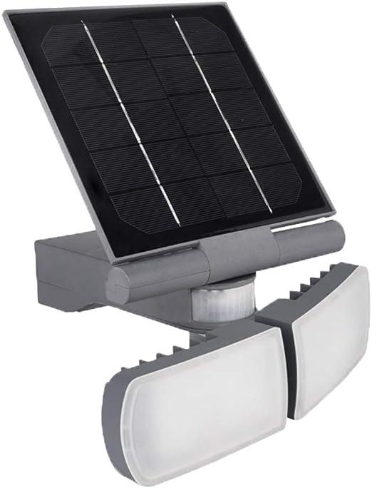Lámpara LED Proyector Pared aslo 2 x 5 W Panel Solar orientables ...