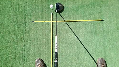 """Golfnsticks """"The Top Rated"""" Golf Alignment Sticks / Amazing Team Color Options / Made in the USA! / Fast Free Shipping"""