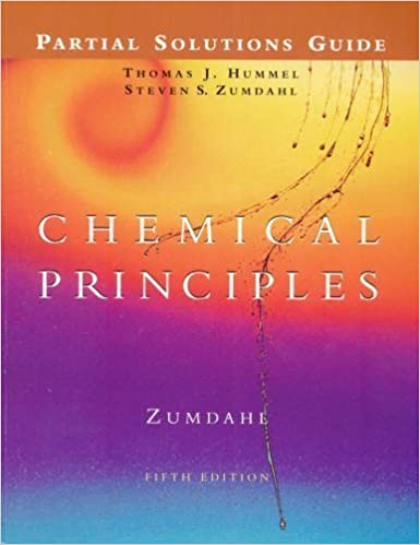 Book Chemical Principles Partial Solutions Guide, 5E by Steven S. Zumdahl (2004-08-12)