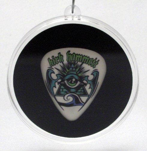 (Metallica Kirk Hammett Great Seal Guitar Pick Christmas Ornament)