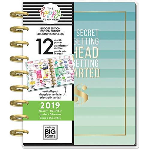 Create 365 The Classic Happy Planner Budget Secret 2019