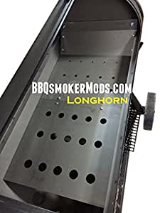 lavalock sistema de placa deflectora para Oklahoma Joe de Longhorn Fumador Tuning partes
