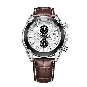 Addic Chronograph White Dial Men's Watch – Megirmw2