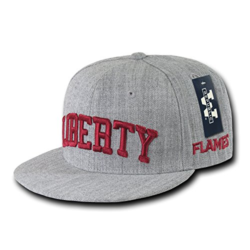 Fitted Game Cap Hat (W Republic NCAA Game Day Fitted Cap College Caps - Liberty Univ, 7 1/2)