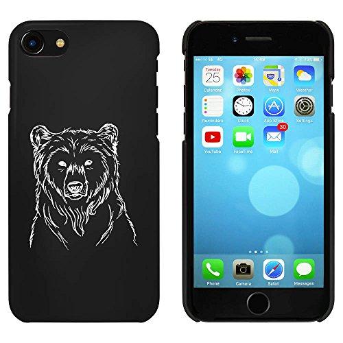 Noir 'Beau Ours' étui / housse pour iPhone 7 (MC00080123)