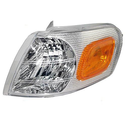 Chevrolet Sport Van (Drivers Park Signal Side Marker Light Lamp Lens Replacement for Chevrolet Oldsmobile Pontiac Van 15130499)