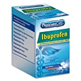 Acme United 90109, Ibuprofen Individual Dose Packet, 2/Pack, 125 Packs/Box by Acme United