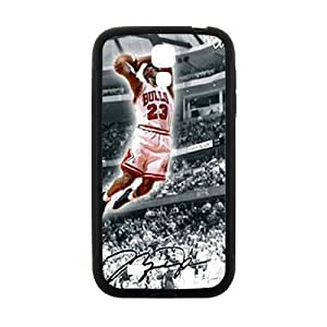 Bulls 23 flying man Jordon Cell Phone Case for Samsung Galaxy S4