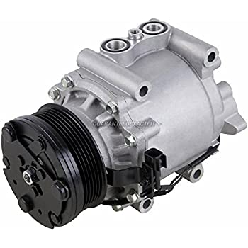 AC Compressor & A/C Clutch For Ford Five Hundred 500 Freestyle Mercury Montego 2005 2006 2007 - BuyAutoParts 60-01971NA New