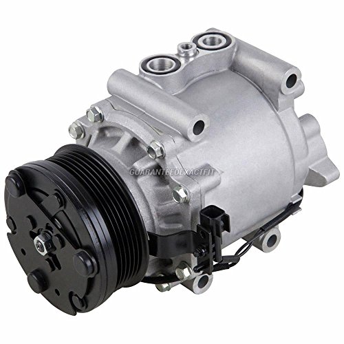 AC Compressor & A/C Clutch For Ford Five Hundred 500 Freestyle Mercury Montego 2005 2006 2007 - BuyAutoParts 60-01971NA - Hundred Five Ford Parts