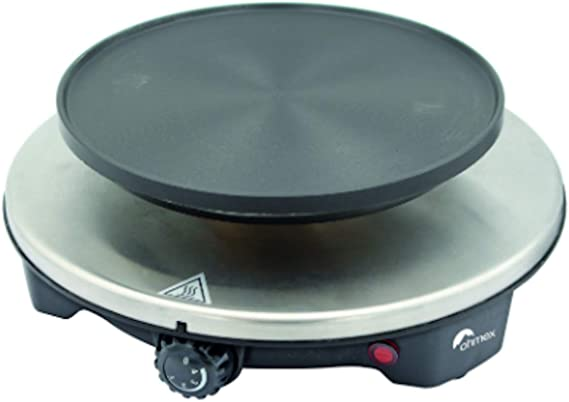 Ohmex OHM-FND-1507- Hornillo de fundición, 1500 W, termostato ...