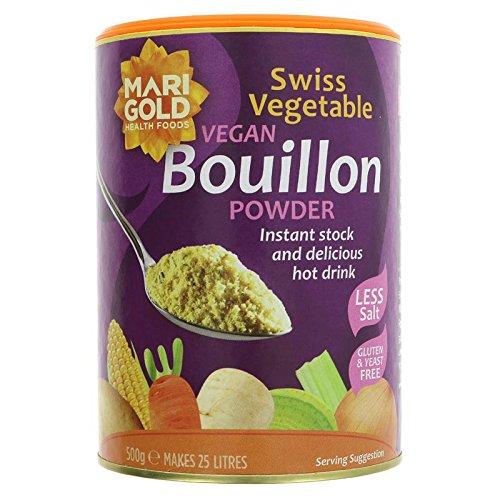 (2 PACK) - Marigold Swiss Vegetable Bouillon - Reduced Salt & Vegan| 500 g |2 PACK - SUPER SAVER - SAVE MONEY