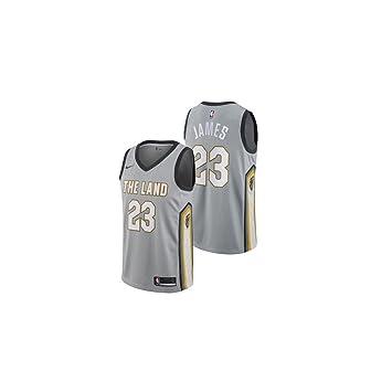 Nike NBA Cleveland Cavaliers Lebron James LBJ 23 2017 2018 City ...