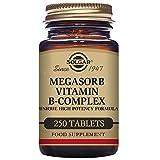Solgar Megasorb B-Complex Tablets, 250 Count