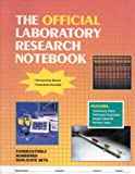 The Official Laboratory Research Notebook 9780763709044