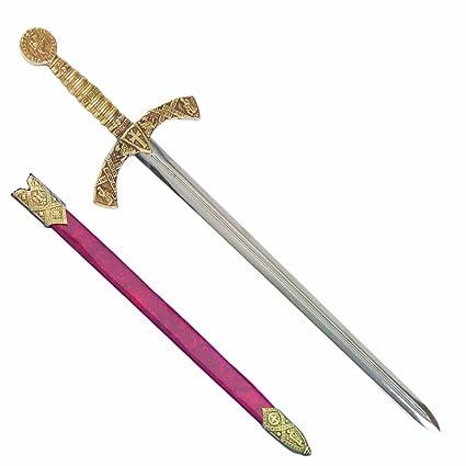 Denix Crusader Espada Abrecartas con Vaina: Amazon.es: Hogar