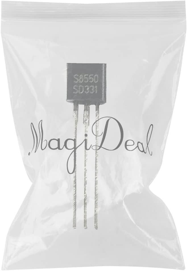 MagiDeal 100 Pedazos S8550 D331 625mw 40V PNP Transistor De Los Silicio Triode