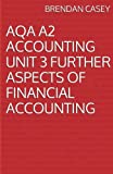 AQA A2 Accounting Unit 3 Further Aspects of Financial Accounting