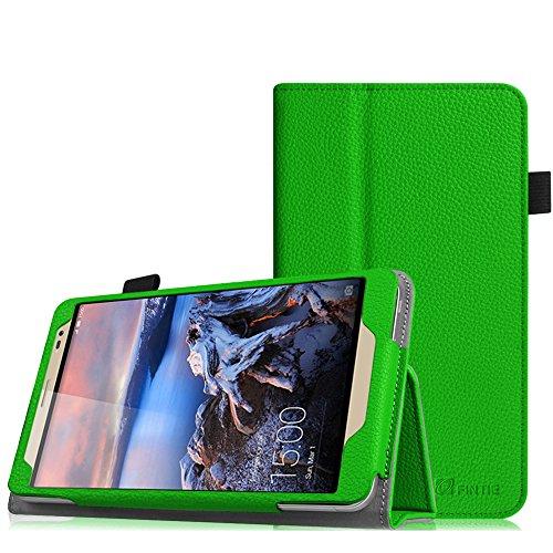 Fintie Huawei MediaPad X2 7.0 Hülle - Slim Fit Kunstleder (Folio) Schutzhülle Tasche Case Cover Standfunktion und Stylus-Halterung für Huawei MediaPad X2 7 Zoll LTE / WiFi Tablet-PC, Grün