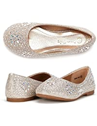 Toddler/Little Kid/Big Kid Nina-100 Girl's Mary Jane Ballerina Flat Shoes
