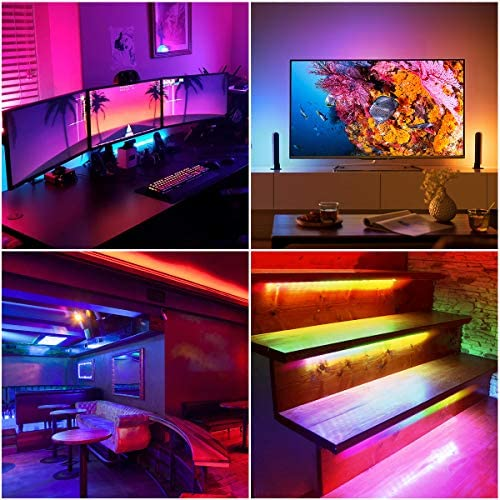 WenTop Led Strip Lights 16.4ft for Bedroom with Remote
