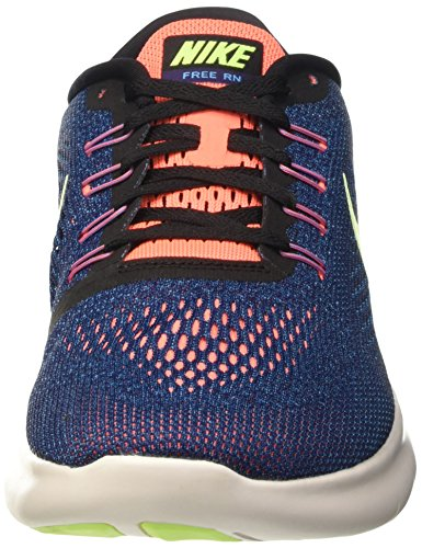 NIKE Free RN Mens Running Trainers 831508 Sneakers Shoes (US 8.5, Purple Dynasty Black Volt 501)