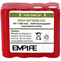 Ritron BPX-8N 2-Way Radio Battery (Ni-MH 10V 1200mAh) Rechargeable Battery - replacement for Ritron BPX-8NHC Battery