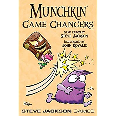 Munchkin Game Changers Card Game: Toys & Games