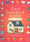 First One Hundred Words Sticker Book, Heather Amery and Stephen Cartwright, 0794501907