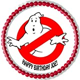 Ghostbusters (5) - Edible Cake Topper - 10'' round