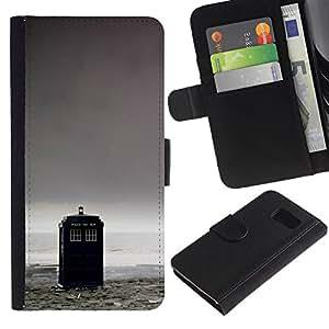Stuss Case / Funda Carcasa PU de Cuero - Caja de Policía - Doctor - Sony Xperia Z3 Compact