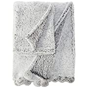 Levtex Home Baby Grey Heathered Mommy and Me Blanket
