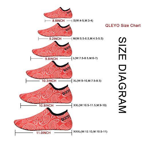Dry Barefoot Shoes for Yoga Quick Water Swim Style24 Shoes Water and Skin QLEYO for Shoes Men surf Women Shoes Beach qxnzgtS