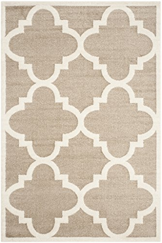 Safavieh AMT423S-5 Amherst Collection Area Rug, 5' x 8', Wheat/Beige