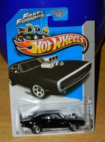 Hot Wheels 2013 HW City Fast & Furious '70 Dodge Charger R/T 3/250, Black