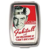 Retro-a-go-go! Fukitall Pill Box Vitamin Holder Pill Case