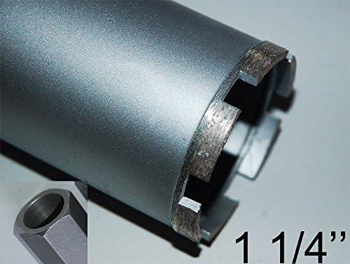 1//¼ UNC Couronne diamant Tr/épan HSS nucl/éaire DM 91/mm Longueur 400/mm